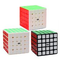 Original MoYu Professional Educational Magic Cubes 5x5x5 Speed Puzzle Cube Stress Reliever Magicos Puzzle Game Kids