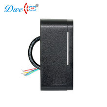 DWE CC RF access control card readers black color 12V 13,56 MHz WIEGAND 26 bit rfid reader for electronic security system(China)