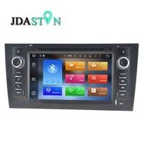 JDASTON Octa Lõi Android 8.0 4 gb ram Xe DVD Player Cho AUDI A6 S6 RS6 1997-2004 Đa Phương Tiện GPS Navigation Đài Phát Thanh Video Player