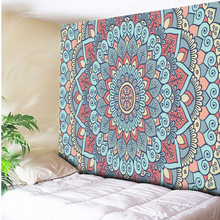 Boho Wall Tapestry Bohemian Rectangular Tapestry Wall Hanging Indian Mandala Bedspread Shawl Blanket 130cmx150cm 150x200cm все цены