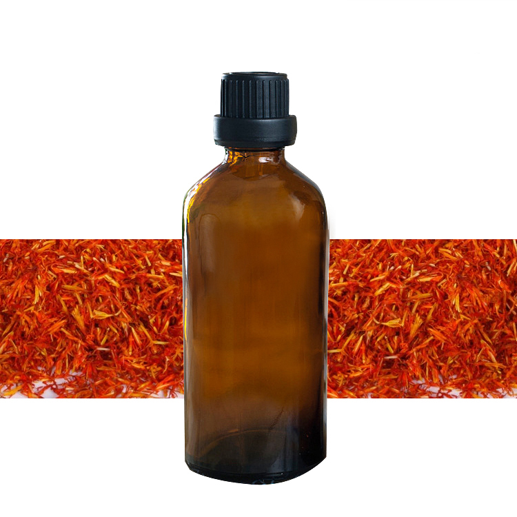 100 pure plant base oil Essential oils skin care Safflower seed oil 100ml Body Massage J7 in Essential Oil from Beauty Health