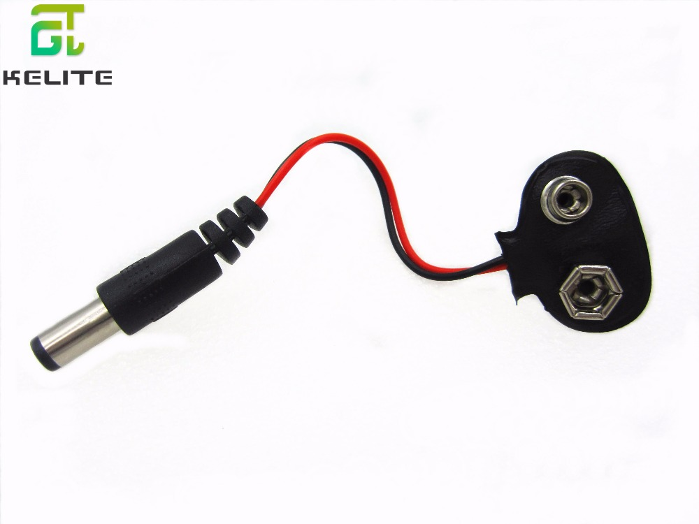 1PCS 90 DC 9V Battery button power plug for Mega 2560 1280 UNO R3 132