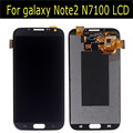 100% new tested lcd for samsung galaxy  Note2 N7100 N7105  Display LCD With Digitizer assembly
