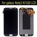 100% novo testado display lcd para samsung galaxy note2 n7100 n7105 lcd com digitador assembléia