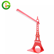New arrival Eiffel tower led table lamp modern fashion decorative night light desk lamp for living room bed room