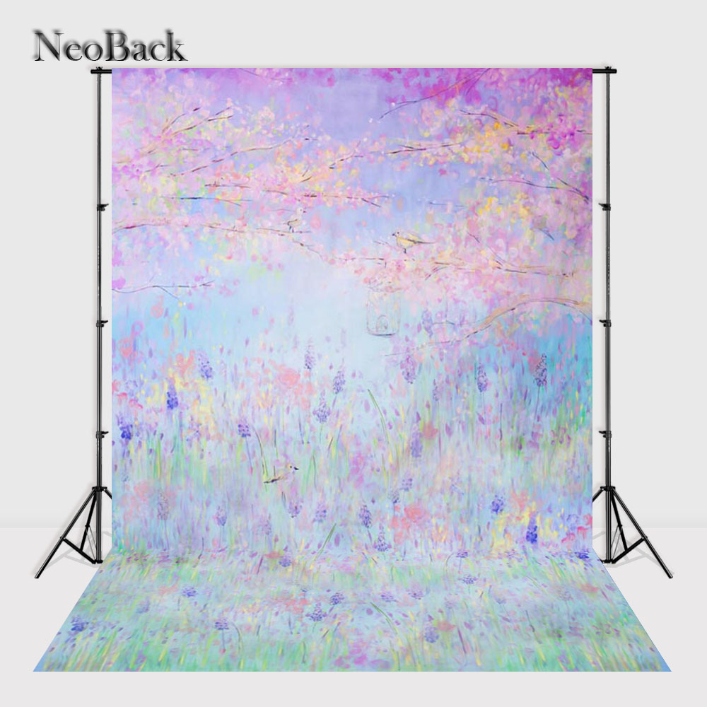 NeoBack 5x7ft Vintage Vinyl Cloth Floral Photo backgrounds for photo studio children shooting Printed Photo Backdrops P0740 110v 220v 4 axis mini cnc am3040 engraver carving engraving router machine