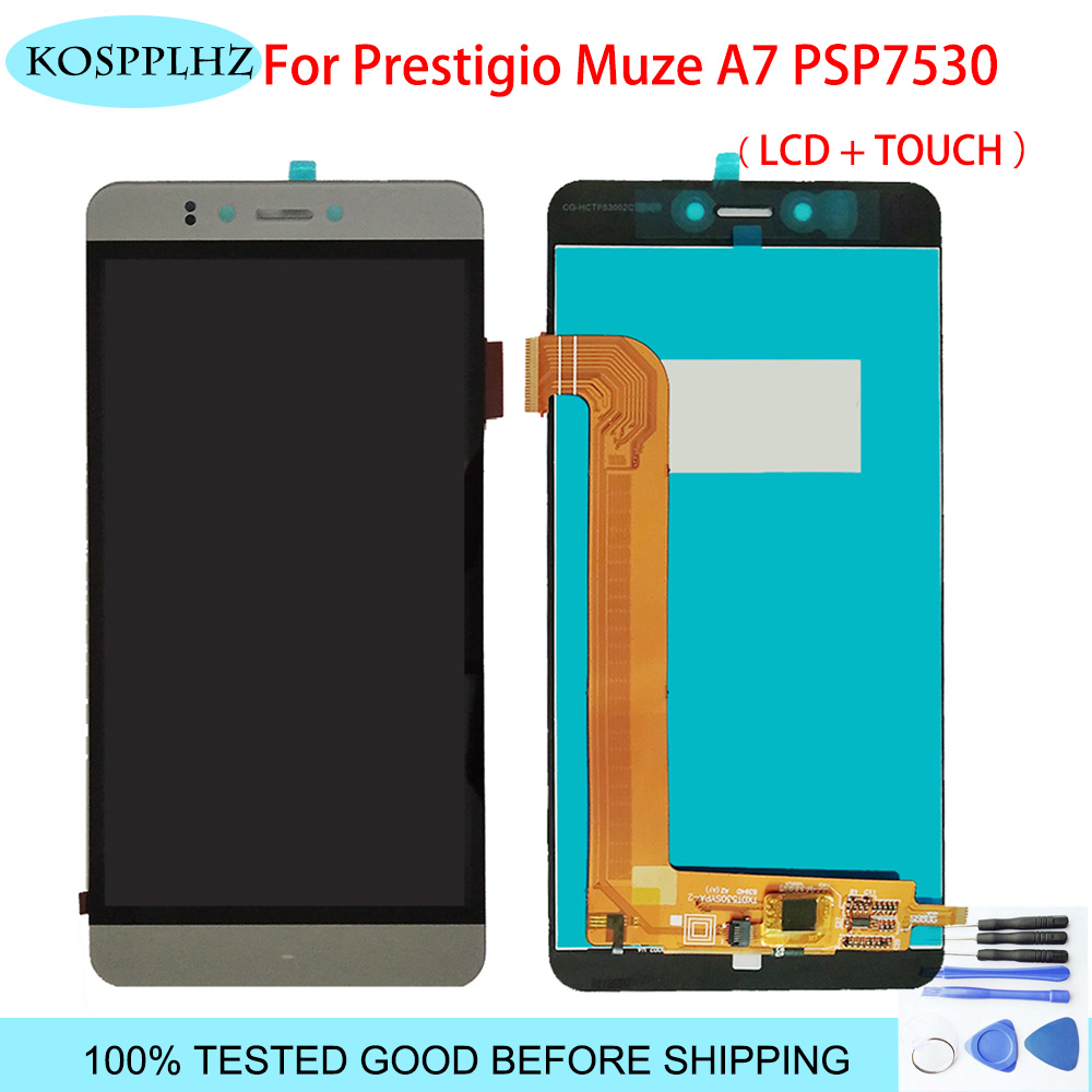 5.3 inches For Prestigio Muze A7 PSP7530DUO PSP7530 PSP 7530 DUO LCD Display And Touch Screen assembly Replacement +Tools image