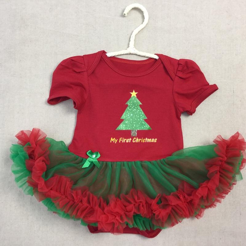 baby girls onesie xmas tree baby newborn girl onesie tutu dressbaby girls romper red green christmas tree baby tutu onesie in rompers from mother kids