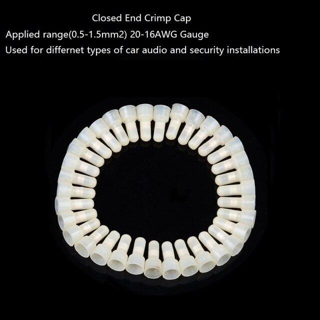 Closed end wire connector crimp cap 05 15mm2 20 16 awg gauge car closed end wire connector crimp cap 05 15mm2 20 16 awg gauge car keyboard keysfo Choice Image