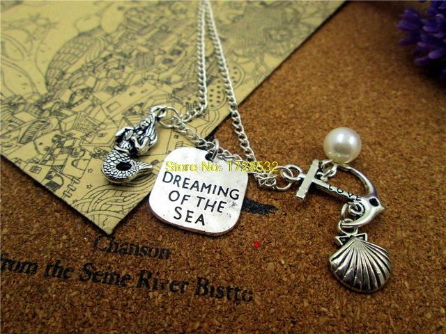 collier argent dore dreaming