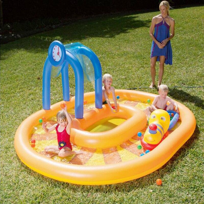 2017 produits les plus vendus nouveau design de gare ferroviaire cool grande piscine enfants natation de haute qualité livraison gratuite