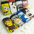 2 Pieces High quality 100% cotton cartoon men's Boxer / men underwear (Mix 32 Styles) Lovely&Sexy
