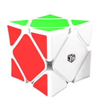 QiYi Concave Skewb Magic Cube with Magnetic Positioning System Speed Cubes Puzzle Toys For Kids