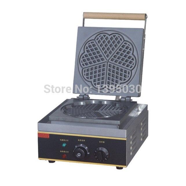 FY 215 électrique gaufrier boulanger coeur forme moule Plaid gâteau four conced Machine de chauffage électrique gaufrier - 2