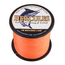 Hercules плетеная леска 8 нитей 10 300 фунтов ПЭ 100 м до 2000
