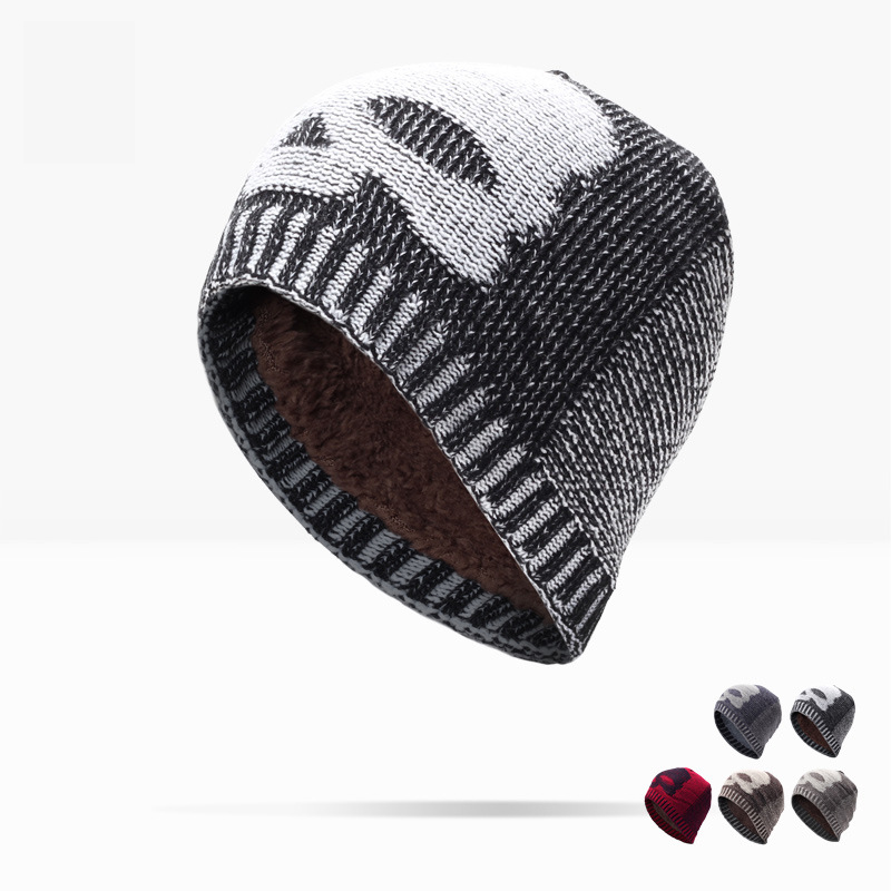 Man Top Fashion Solid Adult And Woman 2017 New Fashion Warm Wool Knitted Hat Korean Style Winter Skullies&beanies Cap For free shipping 2016 new 1pcs wholesale diamond grid stripe knit cap man and a woman in winter warm hat 100% quality assurance
