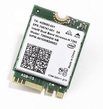 SSEA Новинка для Intel Wireless-N 7265 7265NGW карта Bluetooth 4,0 300 Мбит/с NGFF 2,4G/5 ГГц для DELL Vostro 5460 5470 5439 5480