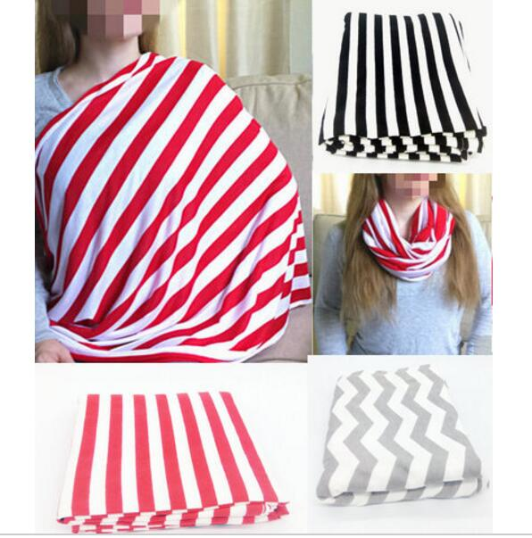 11 COLORS New Nursing Cover Mother Breast Feeding 95%cotton Maternity Nursing Apron Breastfeeding Covers Yellow Pink Chevron