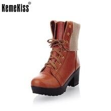 Livraison gratuite bottes de demi de femmes de mode de neige d'hiver chaussures à talons hauts sexy P7905 chaud EUR taille 34-39