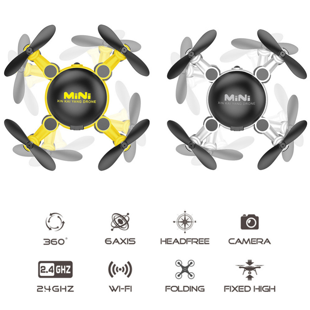 New 1pc KY901 2.4GHz RC Mini Transform Quadcopter 6-axis Gyroscope Altitude Hold Folding Drone Able to 360 Hover wholesale
