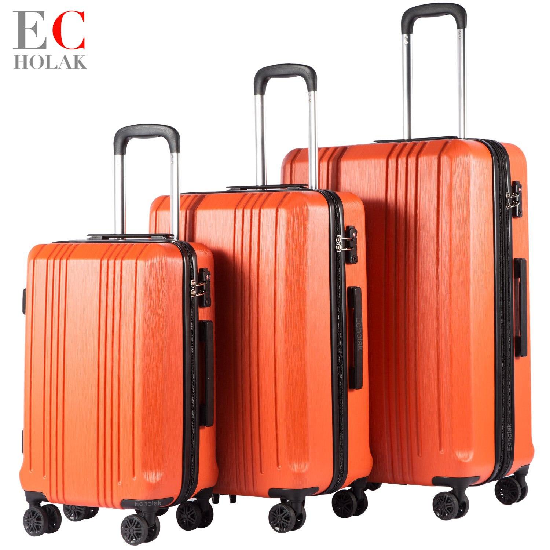 3 Piece Set Xiaomi PC Suitcase Rolling Luggage Lightweight Carry on Spinner Wheel Travel TSA lock