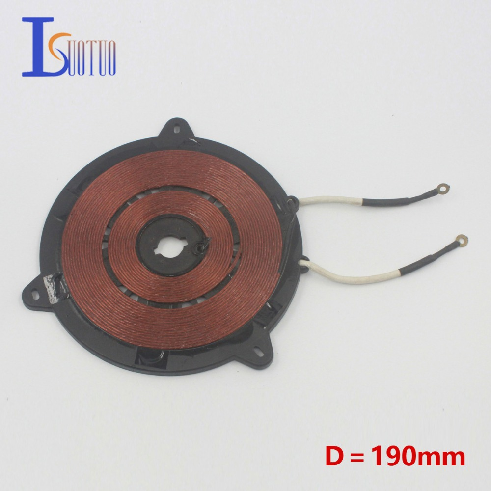 Coil Induction Cooker ~ Electromagnetic oven big copper coil in induction cooker