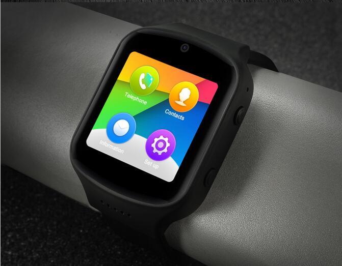 SURMOS Z80 Smart Watch Android 5 1 SOS Smartwatch With 3G wifi Bluetooth GPS NANO SIM