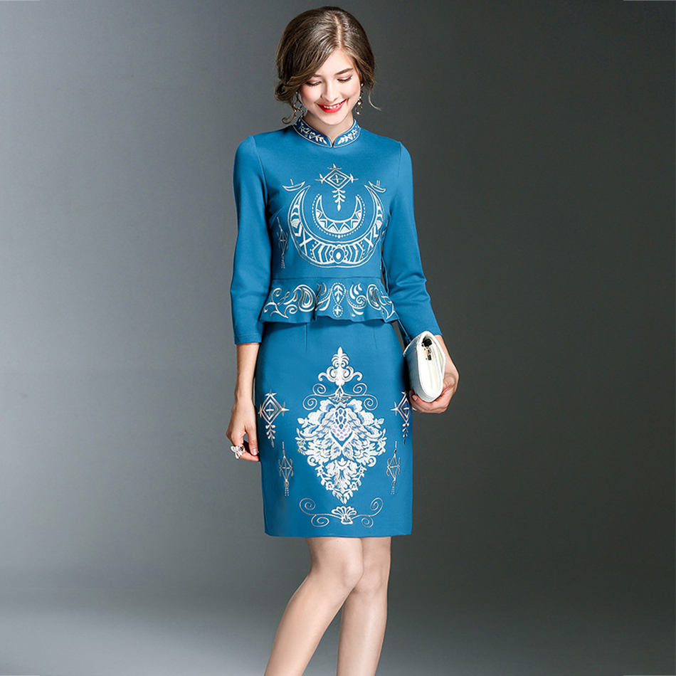 Aliexpress.com : Buy Seamyla 2017 New Winter Embroidery Dress ...