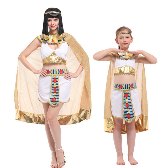 Umorden Family Cleopatra Cosplay for Women Girls Kids Halloween Egypt Queen Costume  Purim Carnival Masquerade Dress Up da29147c1bf6