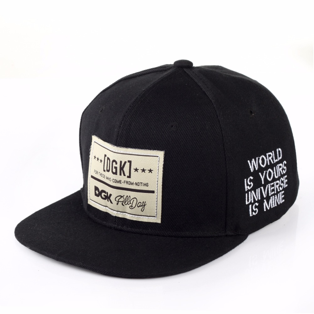 Brand snapback   caps     baseball     cap   dgk hat gorras planas Flat Hip Hop gorra for men women casquette chapeu touca homme wholesale