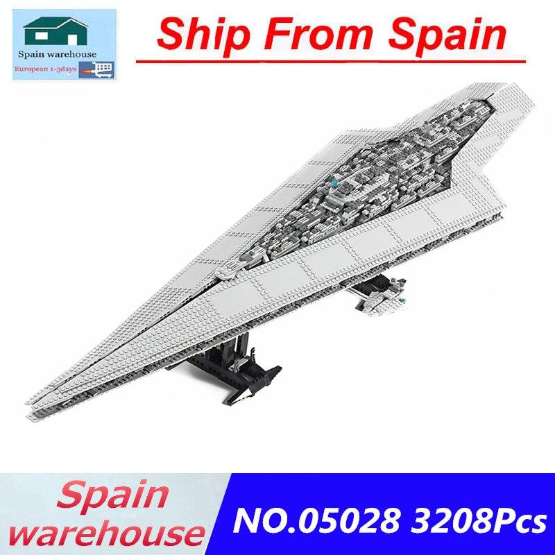 05027 05028 Emperor Fighters Super Star Destroyer Building Blocks Kits Star Wars Series 10221 10030 Toys