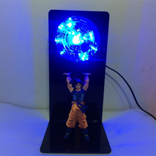 Dragon Ball Z Action Figure Beam Lamps Creative Table Lamp LED Bedroom Decorative Lighting Kid Holiday Gifts Night Light