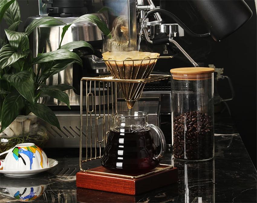 de Café Filtro de Folhas de Chá