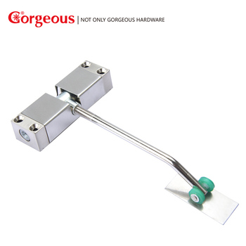 Gorgeous Simple door closer 180 degree unbuffered spring small invisible automatic home door closer Замок