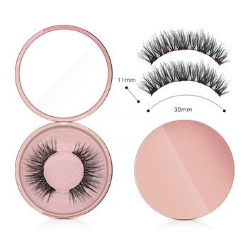 Genailish 5 magnets eyeashes for magnetic eyeliner magnetic eyeashes false eyelash for dropshipping 1