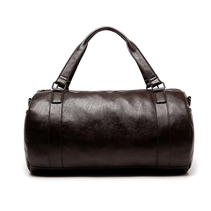 Bolso de cuero de los hombres bolsa de lona de Viaje de alta Calidad bolsa con