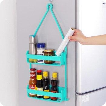 Kreative doppelschicht Wall Mounted Sink Ecke Küche Storage Halter Bad  Halter Regale für Bad Wand