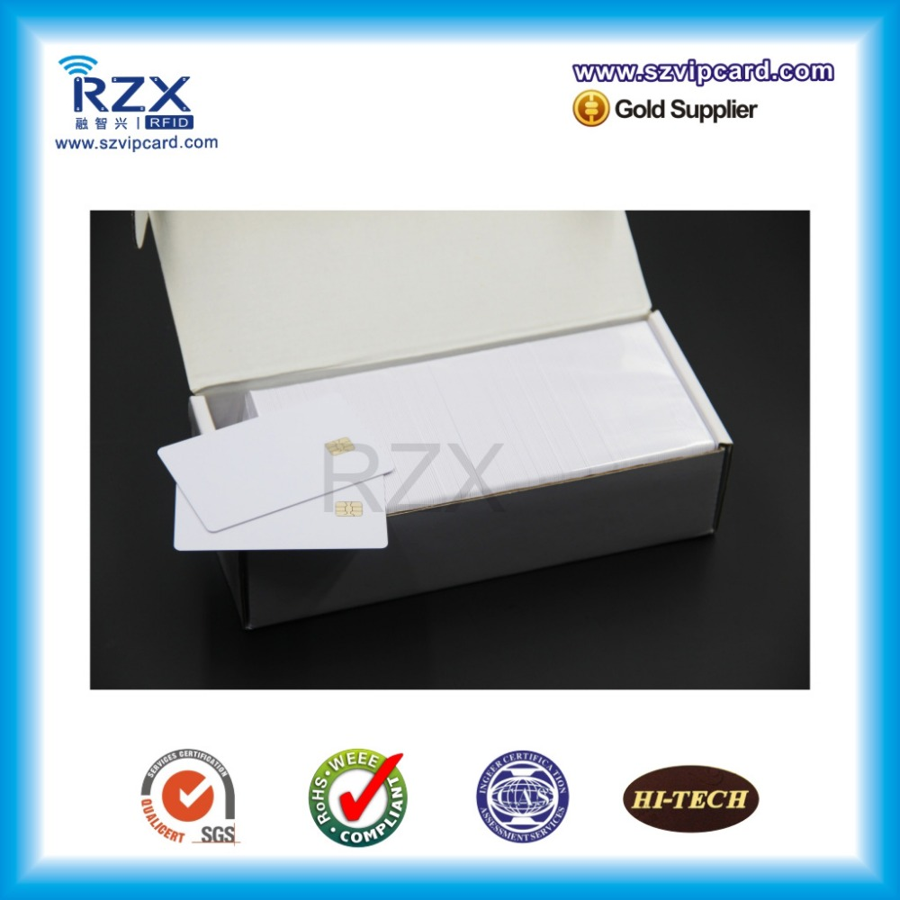 Free shipping 20PCS PVC inkjet blank card/ contact smart blank card with AT24C02 chip, for Canon ene io kb926qf co kb926qf b1 kb926qf c1