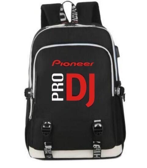 2019 hot selling pioneer dj pro backpack women shouldertravel school bag men laptop bags teenage. Black Bedroom Furniture Sets. Home Design Ideas