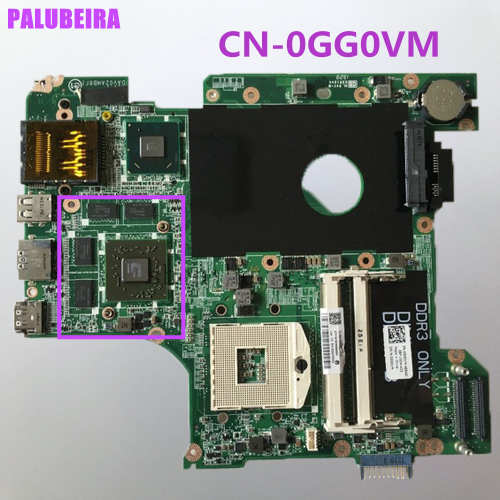 PALUBEIRA For Dell Vostro 3450 V3450 Laptop motherboard HM67 PGA989 0GG0VM CN 0GG0VM mainboard With graphic