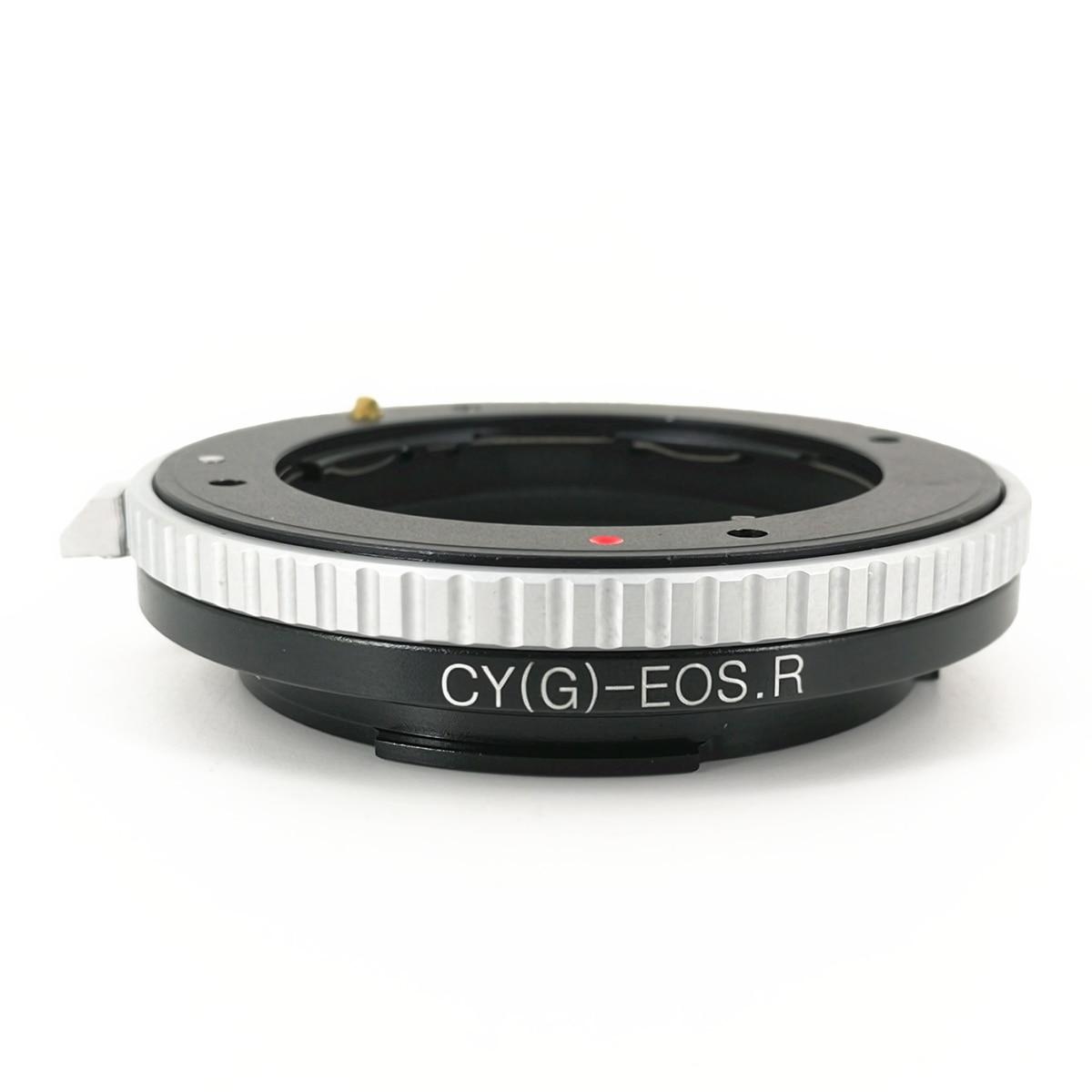 Bague de montage pour adaptateur d'objectif CG-EOSR pour objectifs Contax G et corps Canon EOS R RP RF