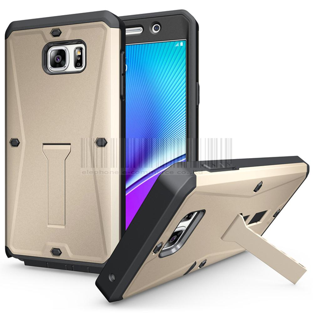 reputable site 10183 1ddef US $4.2 |3In1 Heavy Duty Tank Armor Case With Kickstand + Built In Screen  Protector Hard Protective Cover For Samsung Galaxy Note 5 N9200-in Fitted  ...