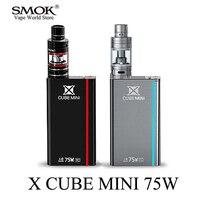 Electronic Cigarette Kit 75W Vape Box Mod E Hookah Pen SMOK X CUBE MINI Mod For