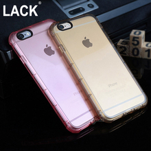 Anti Knock Shockproof Rugged Hybrid Rubber Armor Transparent Soft TPU Case For iPhone 5S 5 SE / 6 6S/ 6s Plus Cover Phone Cases