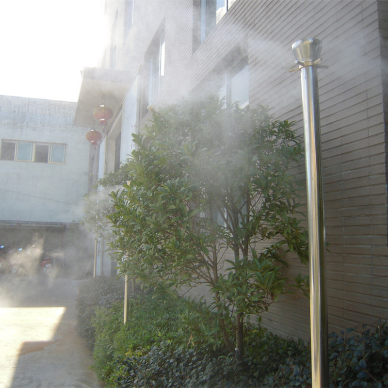 professional outdoor misting cooling system fog water spray lance