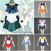 Anime Costume Sailor Moon Month Rabbit Where Sailor Moon Cosplay Costume Uniform Dress Sailor Moon Customized Halloween Dress