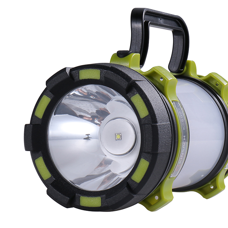 Powerful LED Flashlight Rechargeable Torch High Power Light Lamp Searchlights Built-in Battery 2 Modes Usb Charger
