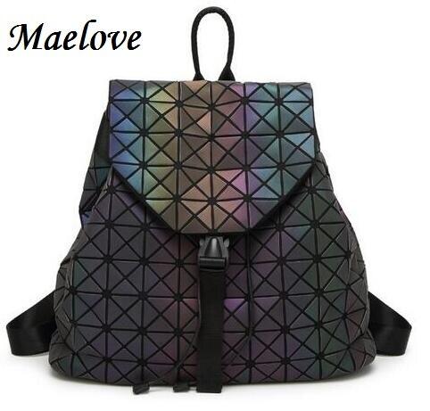 Maelove яркий рюкзак 2018 горячие для женщин Рюкзак Голограмма/фосфоресирующий Рюкзак Студенческая школьная сумка Бесплатная доставка