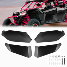 UTV New Four Doors Lower Half Door Inserts Panels for Can-Am Maverick X3 MAX XRS/R Turbo 2017 2018 2019