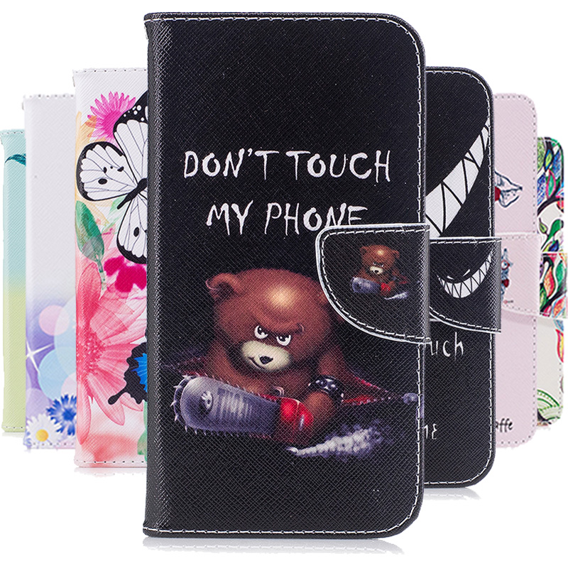 HUUGAOLU For Coque Samsung J3 Case Leather Flip Case Cover For Coque Samsung Galaxy J3 2016 J320 J3 6 J320F Etui Funda Carcasa